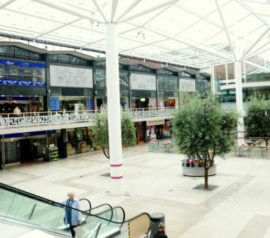 Lower Precinct Shopping Mall