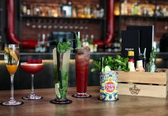 The Havana Club cocktails (Photo Credit: Luke Addis, Birmingham Updates)
