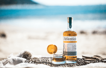 Atlantico Rum on the beach
