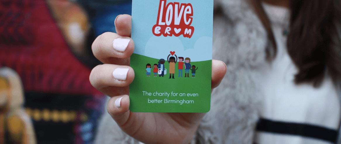 LoveBrum loyalty card