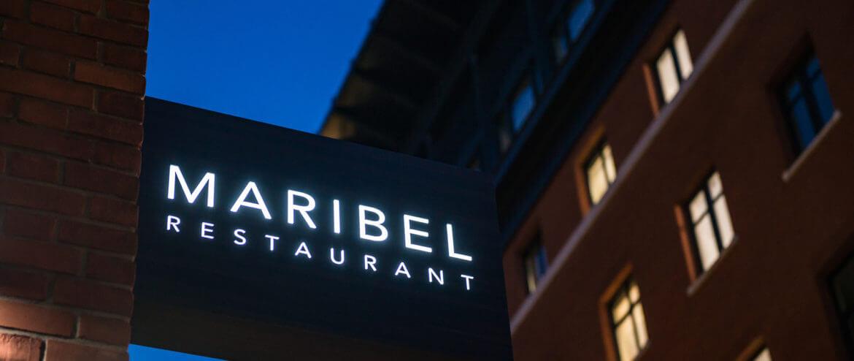 Maribel, Sense, dining in the dark