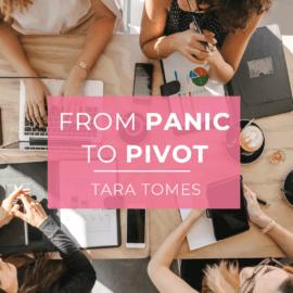 Panic to Pivot, presentation, PR presentation, EAST VILLAGE., East Village PR, Tara Tomes