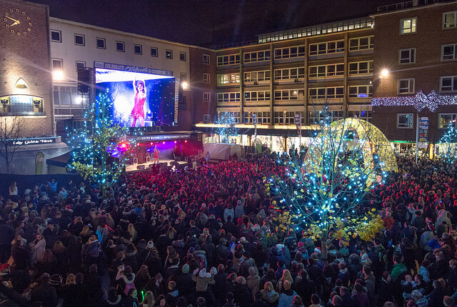 Coventry BID light switch on