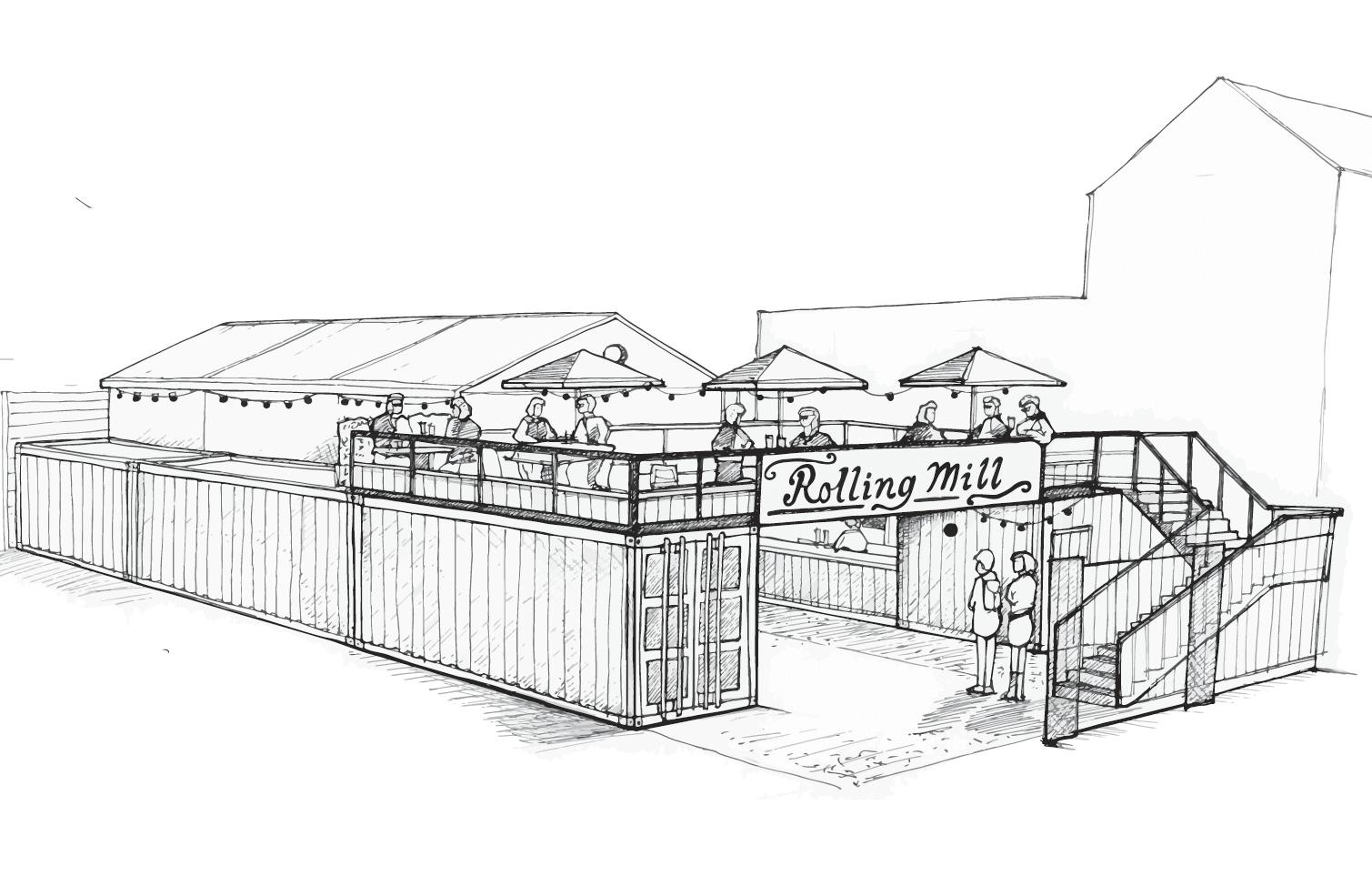 The Rolling Mill Restaurant CGI